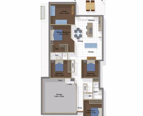 Bangalow Floorplan