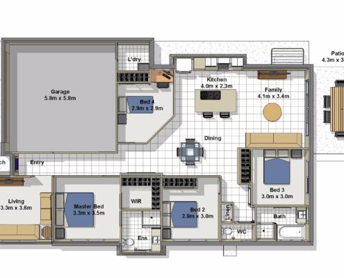 Ibiza Floorplan