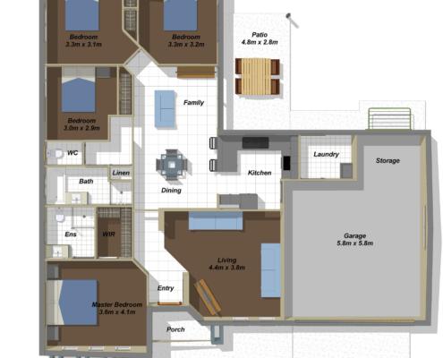 Liberty Floorplan