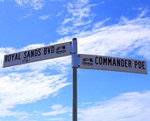 royal-sands-blvd-street-sign