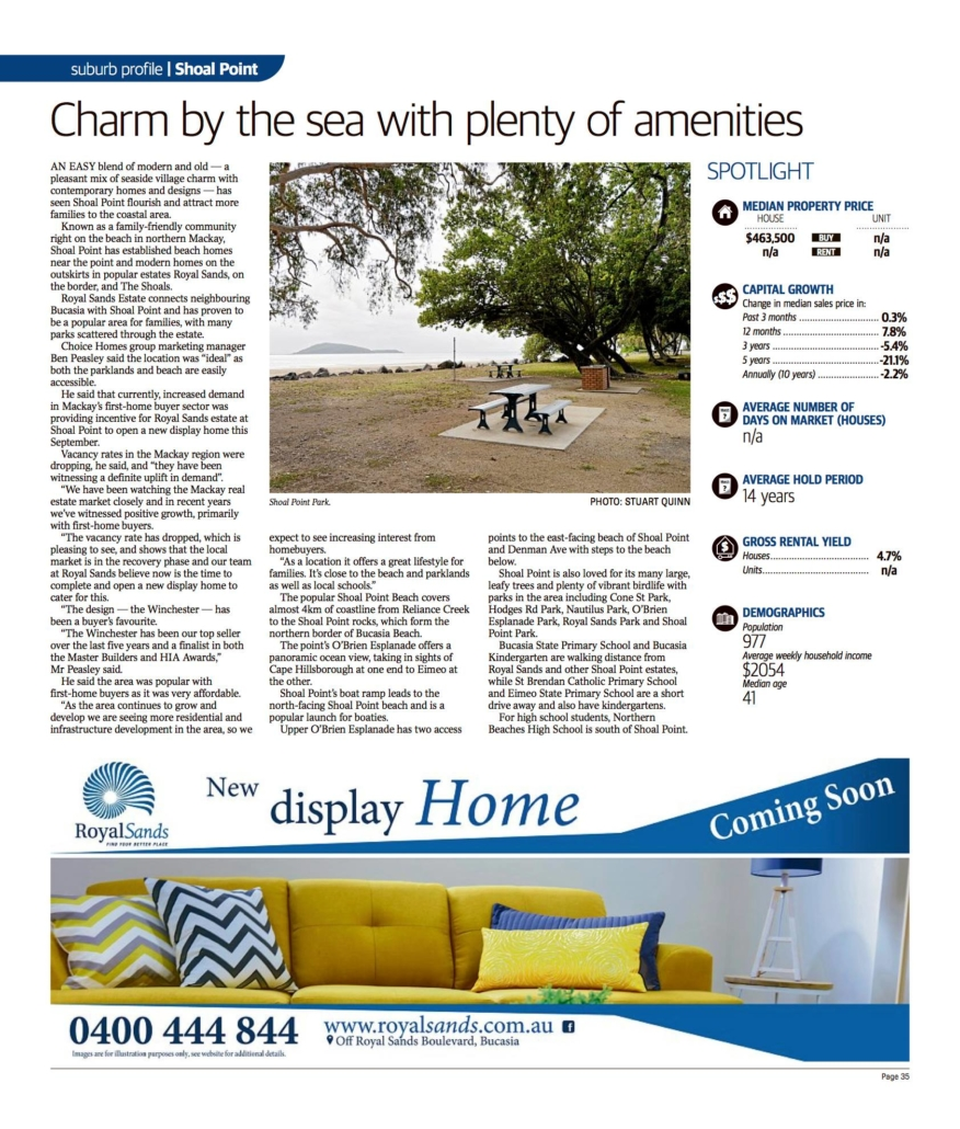 Charm by the sea - shoal point